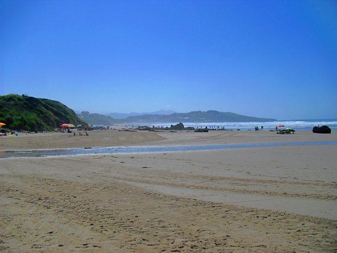 La Playa de Vicente de la Barquera