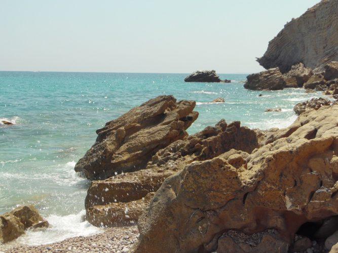 Playa La Caleta Villajoyosa o Cala Higuera