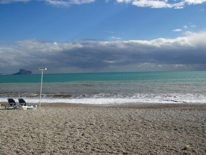 Playa de l'Albir de Alfaz del Pi